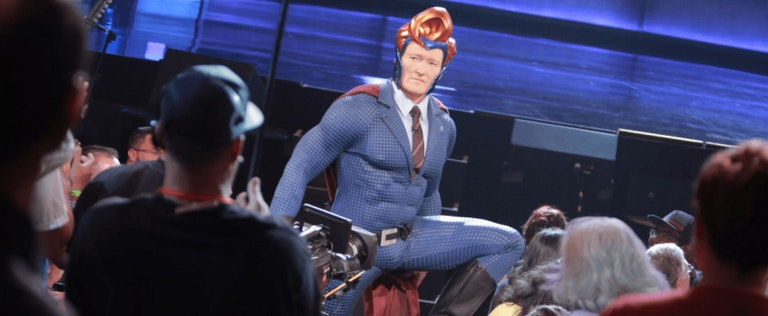 Conan suits up for San Diego Comic Con in 2016