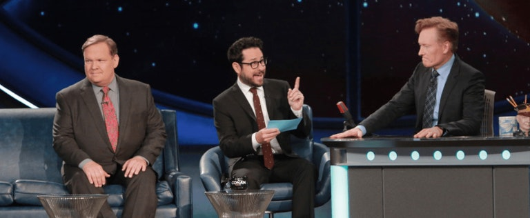 Conan and Andy Richter interview with J.J. Abrams