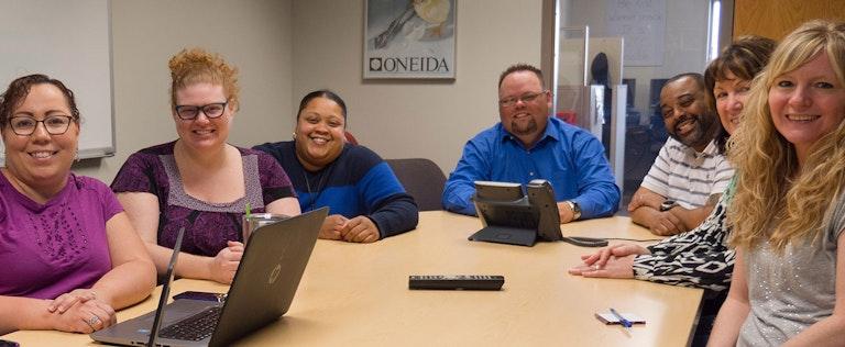 DirectBuy staff meeting