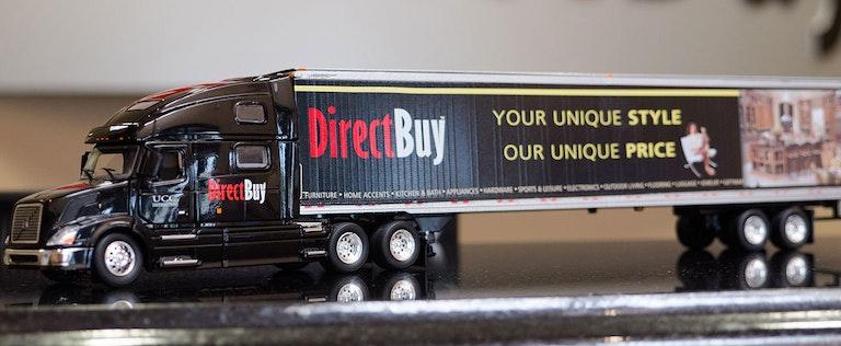 DirectBuy toy semi-truck