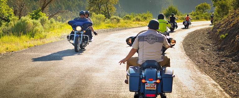 EagleRider motorbike ride