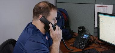 AVIT customer support center taking calls
