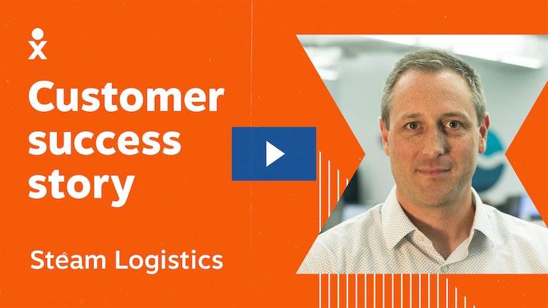 steam logistics success story video