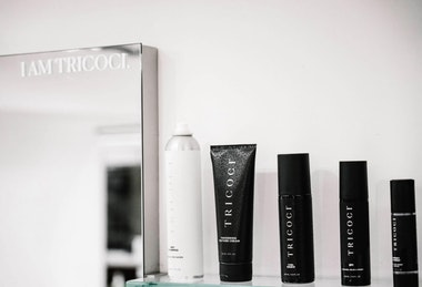 Tricoci products are sole online and in their retail locations