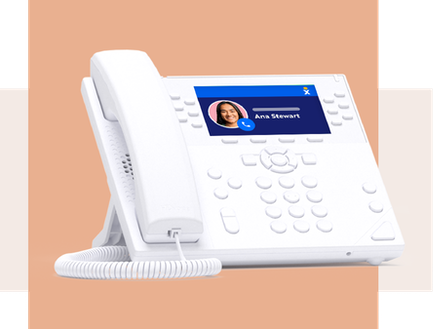 Internet phone service for business VoIP phones.