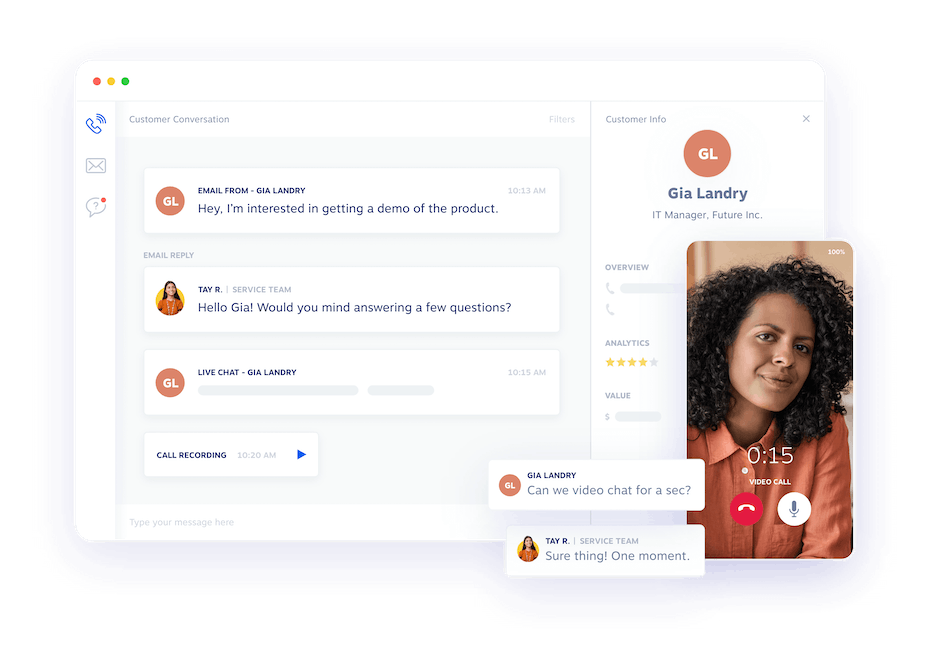 Experience the shift to modern communication